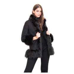 Ecological fur eco sheepskin