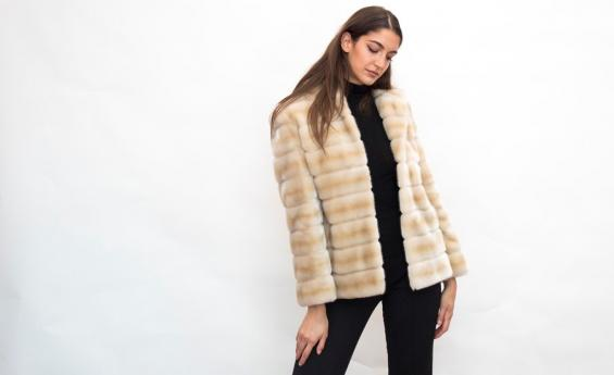 Ecological fur eco mink