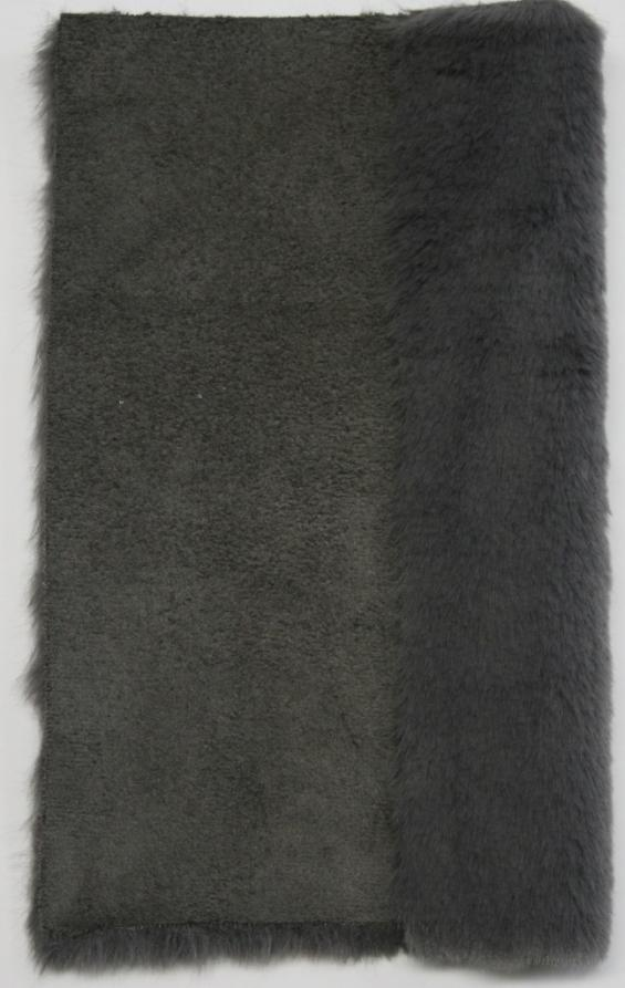 Details faux fur art. fake mutton 09 color grey