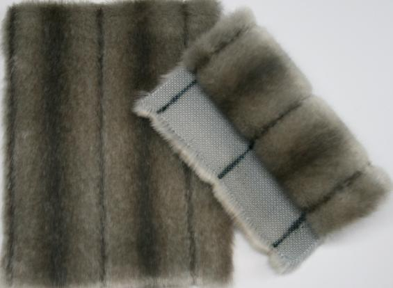 Details faux fur art. mink venus shaded grey